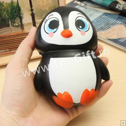Squishy pinguin Happy Feet, jucarie parfumata