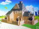 Puzzle 3D lemn Sweet House