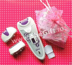 Epilator si aparat de ras, Victronic 3 in 1