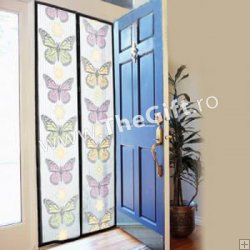 Perdea magnetica anti-insecte, Magic Mesh Butterfly
