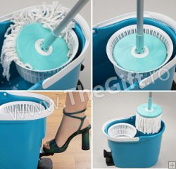 Spin and Go mop rotativ, original Grunberg
