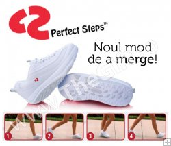 Perfect Steps, pantofi de fitness