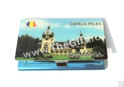Port card metalic, Castelul Peles