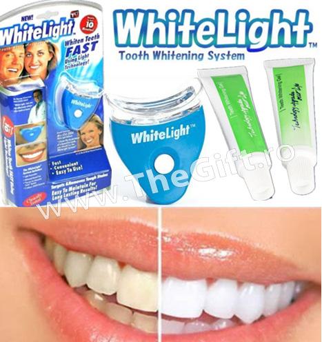 Aparat de albire a dintilor, White Light