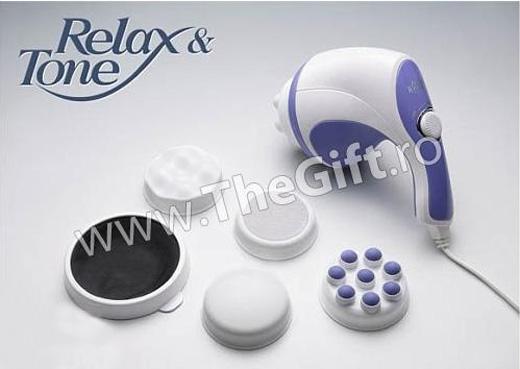 Relax & Tone Spin, aparat de vibromasaj, anticelulitic