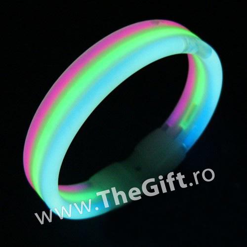 Bratara luminoasa Magic Glow, 3 tuburi