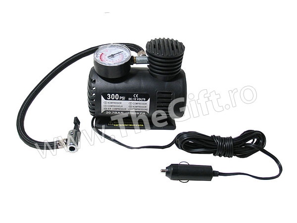 Compresor auto 12V 300psi/20 7bar