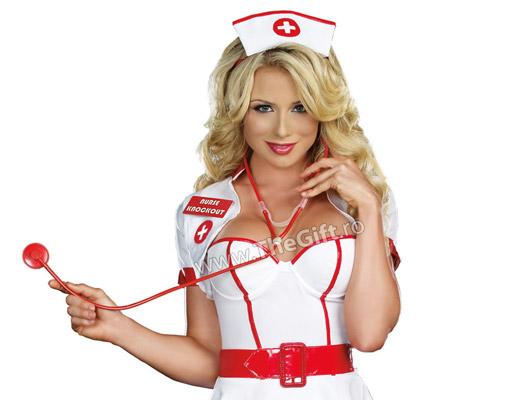 Cordeluta de asistenta sexy