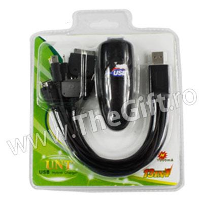 Incarcator adaptor USB/Auto/220V 13 in 1