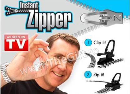 Instant Zipper, set cheite inovatoare pentru fermoar