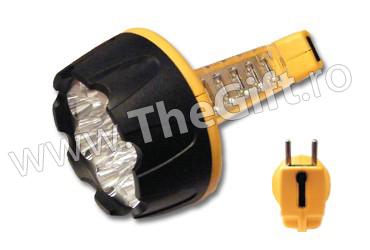 Lanterna GdLite cu 15 plus 10 LED-uri