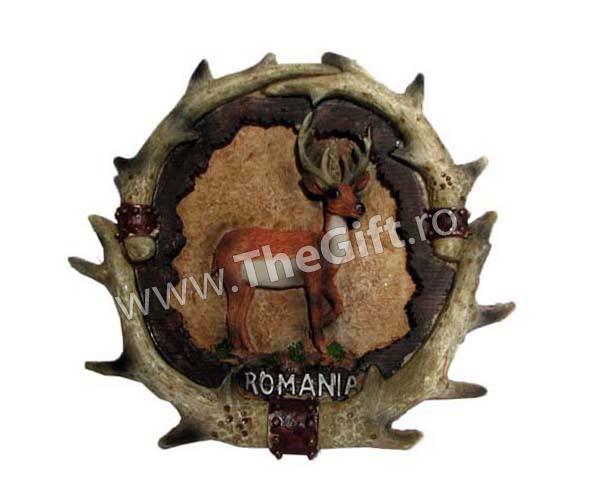 Ornament-panoplie Cerbul carpatin