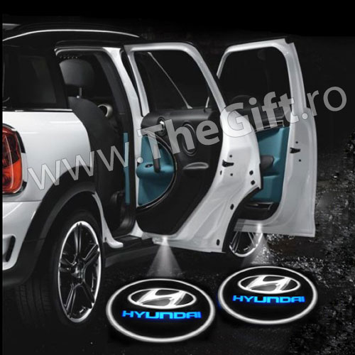 Proiectoare laser logo auto Hyundai