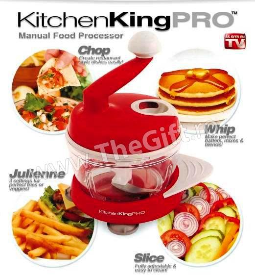 Robot manual Kitchen King Pro