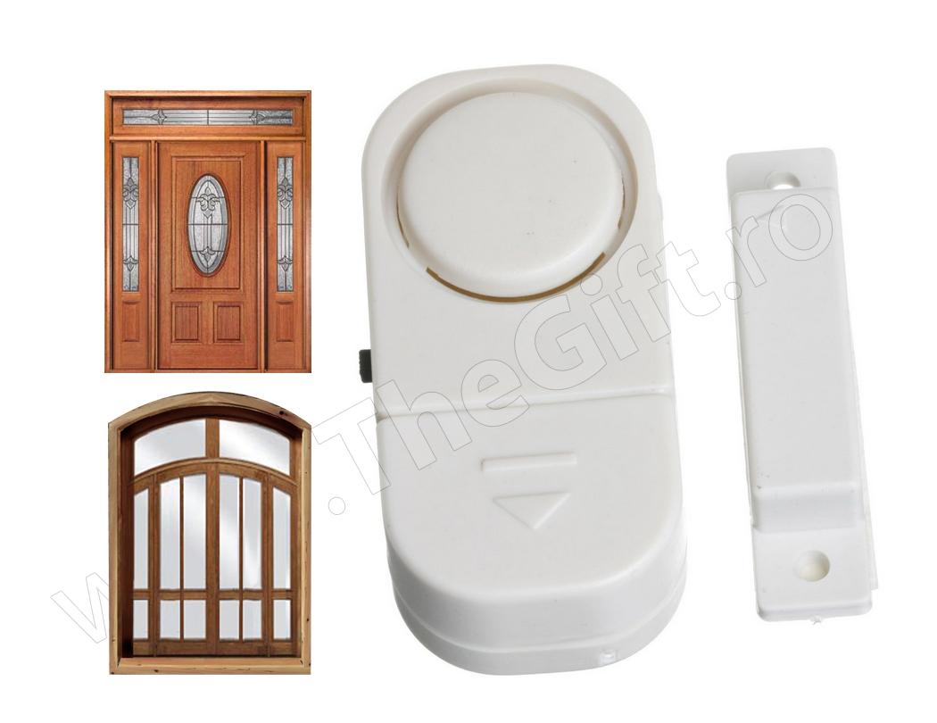 Alarma magnetica pentru usa si fereastra