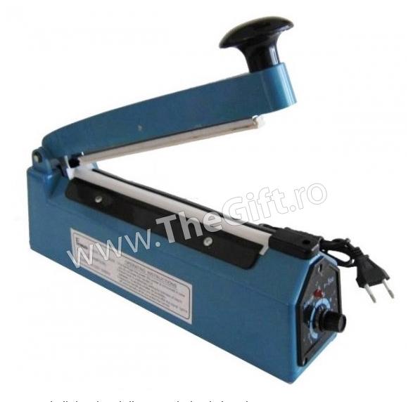Aparat electric de lipit si debitat pungi, 200 mm