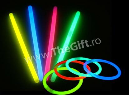 Bratari luminoase fluorescente Glow Stick
