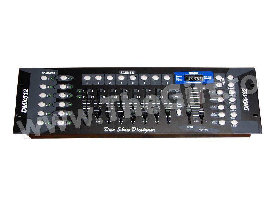 Controller disco DMX 512