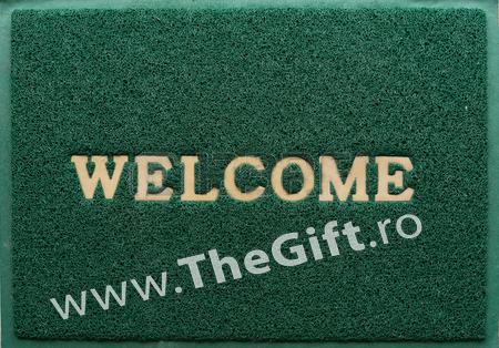 Covoras pentru usa, Welcome