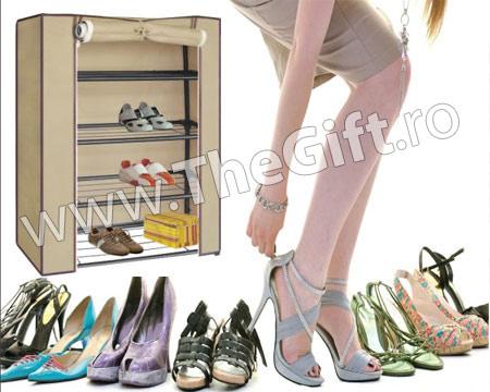 Dulap pentru pantofi cu husa de protectie