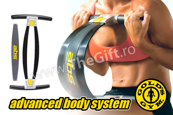 Gold's Gym ABS - pentru abdomen, coapse si brate