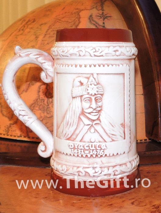 Halba ceramica Dracula, Castelul Bran Romania