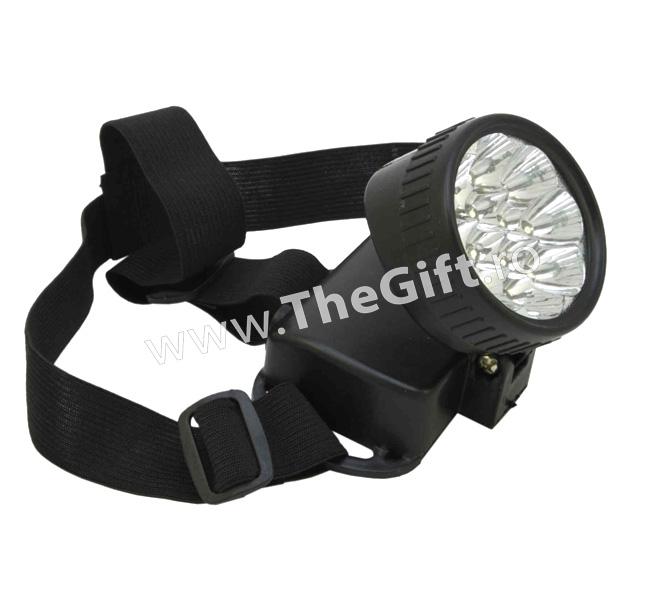 Lanterna frontala cu 12 LED-uri