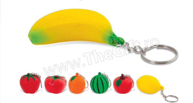 Breloc antistres, fructe