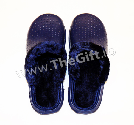 Papuci imblaniti, pentru interior si exterior