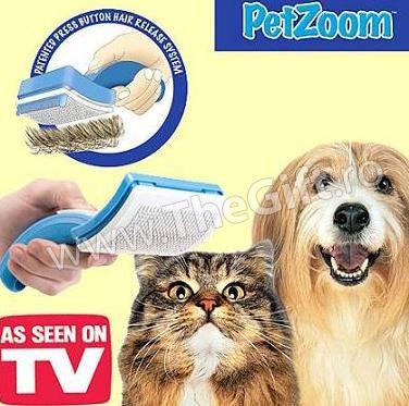 Perie profesionala pentru animale, PET ZOOM