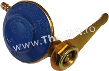 Regulator de presiune, ceas pentru butelie, cu cheie