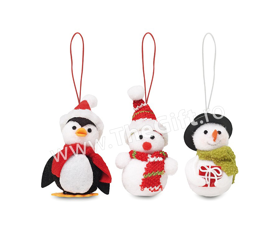 Set 3 decoratiuni Snowies