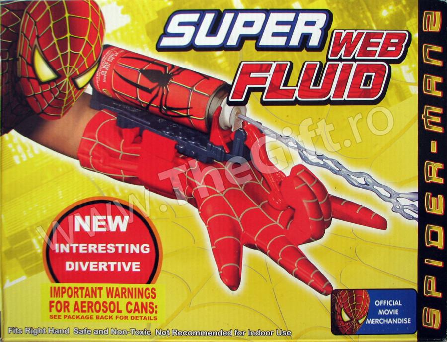 Manusa cu lansator de panza Spiderman