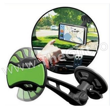 Suport pentru telefon mobil si aparat GPS, in masina